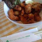 Gurimpakudaisengorufukuraburesutoran - たこ唐揚げ