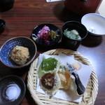 32817312 - 天ぷら 野菜6種