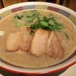 ippuudoushiromarube-su - シロマルベース 700円 / スープの濃さ:特濃 / 麺の硬さ:カタメ