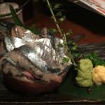32821666 - 秋刀魚のお刺身