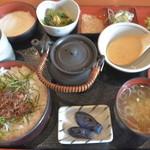 越前和食処 花はす - へしこ茶漬け