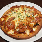 西大路応援団 - フレッシュトマト&チーズのピザ 690円