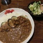 レードル - ナスと挽肉のカレー