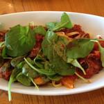 32824128 - 牛肉と季節野菜のトマト煮込みパスタ(1100円)