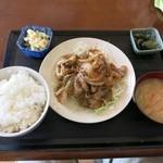 向日葵 - 料理写真:『生姜焼定食』(税込500円)