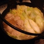 炭火焼鳥うちは - 鶏鍋