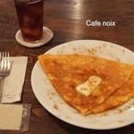 カフェ ノワ - テーブルの上のみ撮影はできます。