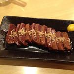 まるちゃん - レバステーキ(豚)500円