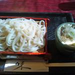 賀寿吉 - もりうどん(550円)_2014-11-19