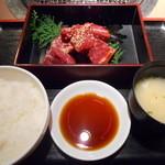 肉家焼肉ゑびす本廛 - ダブル ! ! ハラミ定食