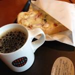 タリーズコーヒー - 朝はコーヒーです。520円  (2014.11現在)