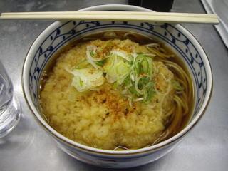 信州蕎麦処 しなの - 天ぷらそば360円