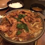 わさび - 鳥味噌 陶板焼