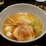 麺処 銀笹 - 白醤油