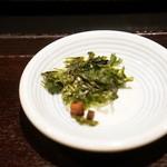 麺処 銀笹 - あおさのり