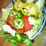 伊田佳 - きゅうトマ野菜サラダ