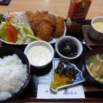 味処 東本店 - 料理写真:<'14/11/23>カキフライ定食¥1000