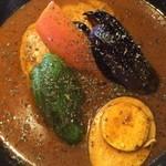 スープカリー クフウ - チキンスープカレー辛さ8番イーボー!
