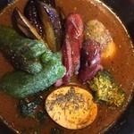 スープカリー クフウ - 野菜カリー辛さは5番!