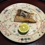 日本料理 太月 - 焼物 鰆塩焼き 2014-11