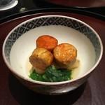 日本料理 太月 - あん肝付焼き 2014-11