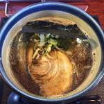 麺楽屋 - 「コク醤油らぁめん」680円