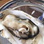 浜松かきセンター - 蒸し牡蠣