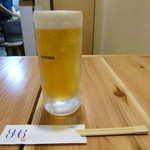 808 - 生ビール。