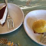 黄色いからす - 食後デザート ケーキ、スイートポテト