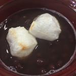 ゆずりは - 焼いたお餅も小豆も美味しい〜((´艸`*))