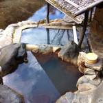 源流の宿 帆山亭 - 部屋のお風呂。