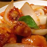 たんたん房 - ヒレ肉酢豚 770円