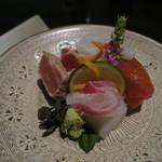 日本料理 「風花」 - 本日のおすすめ 三種盛り