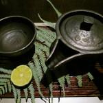 日本料理 「風花」 - 松茸土瓶蒸し