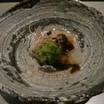 日本料理 「風花」 - 伊勢海老昆布〆