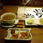 串柾 - 茶粥とデザート