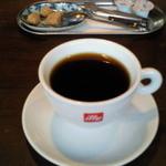 石窯キッチン&カフェ ぶらぼぅ - ランチセットのコーヒー