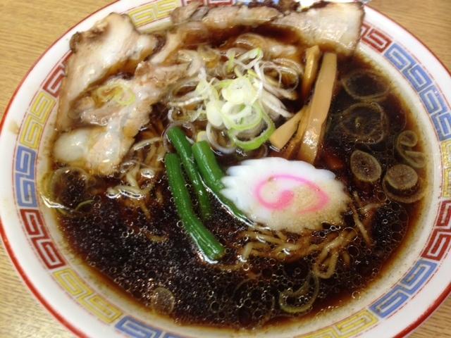 ますや本店 - 「伝」縮れ麺&バラ肉で 680円