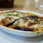 ピッコロヂヂ - <2014年11月>ナスのチーズグラタン。これも捨てがたいおいしさ。