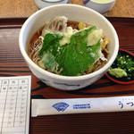 うつろぎ - 天ぷらそば¥700