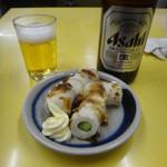 赤松酒店 - ちくキュウと瓶ビール