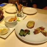 Dining Bar さんかく - 前菜3種盛り