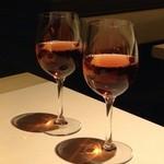 Dining Bar さんかく - ワイン(ロゼ)