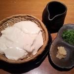 Rojimon - ざる豆腐