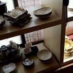 手打蕎麦処 蕎酔庵 いっこう - 陶器も店主が作っているようです