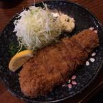 とんかつ 錦 - 料理写真:ロースかつ(980円)2014年11月