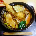 勝美屋 - 料理写真:天ぷらそば