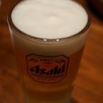 32856608 - ジンギスカンにはビールが合う、ノミホながら生ビーは冷えたジョッキで提供