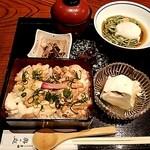 良彌 奥の庭 - おぼろ豆腐御膳