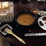 32857902 - 大和の茶がゆ 1000円(税込)